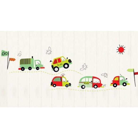 Autók az úton falmatrica