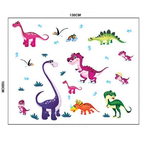 Dinoszauruszok falmatrica