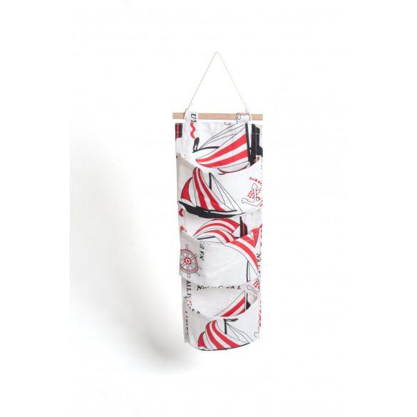 Falra akasztható zsebes tároló - HAJÓS