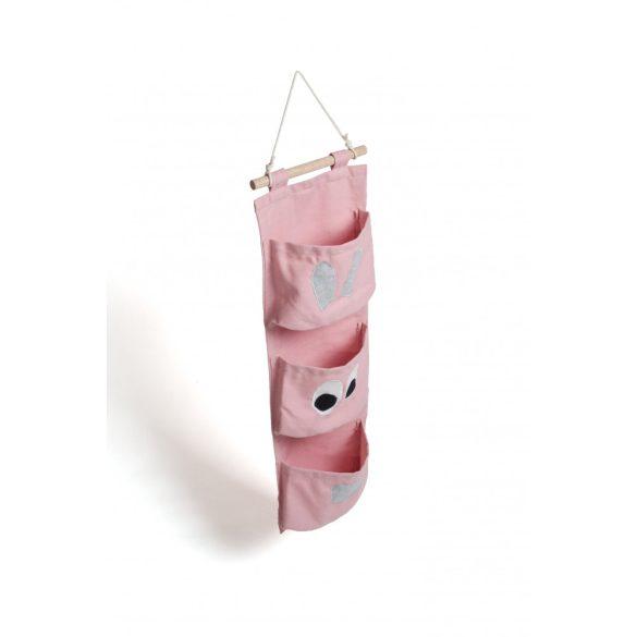 Falra akasztható zsebes tároló - Tapsi Nyuszi