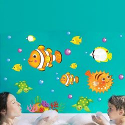 Korallzátony állatai falmatrica