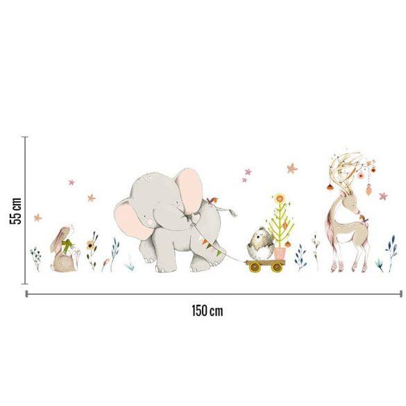 Kiselefánt falmatrica