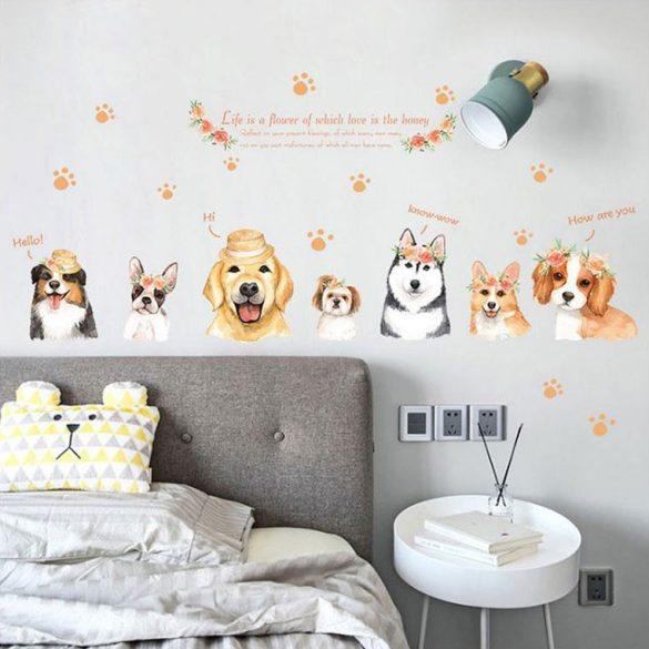 Kutyusaink falmatrica
