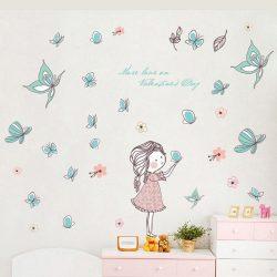Pillangók hercegnője falmatrica