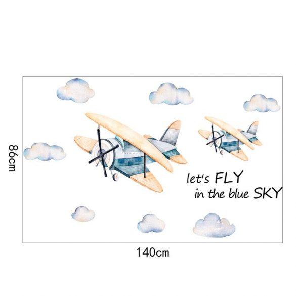 Repülőgépek falmatrica