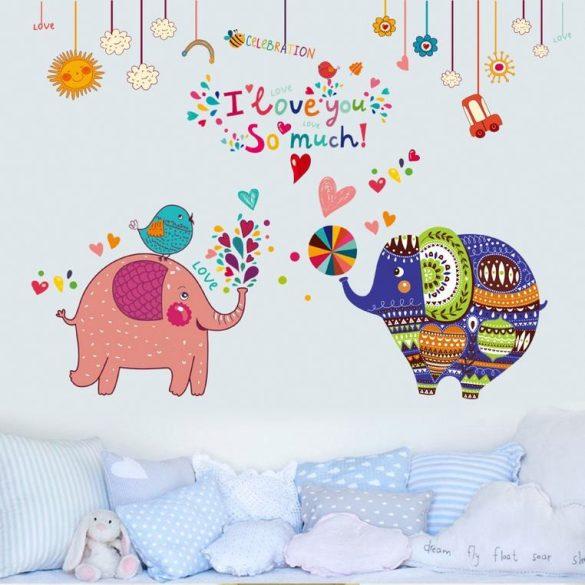 Színpompás elefántok